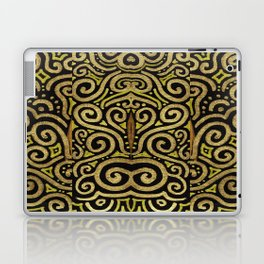 Golden Manipura Laptop & iPad Skin