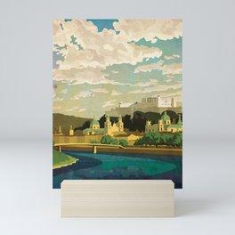 Salzburg, Austria Mini Art Print