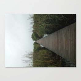 Walking the Boardwalk Canvas Print