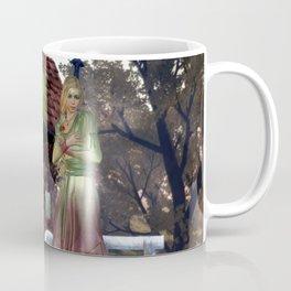 Green Fairy and Shoe House Coffee Mug