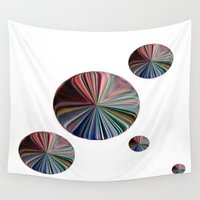 circle Wall Tapestries featuring circle by  Agostino Lo Coco