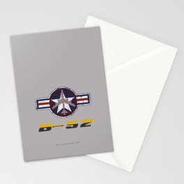 B-52 with Insignia  Stationery Cards