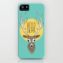 Good Manners - Hello Dear iPhone Case