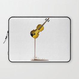 Liquid Violin Laptop Sleeve