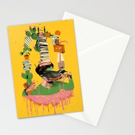 SURREAL KNOWLEDGE Stationery Cards