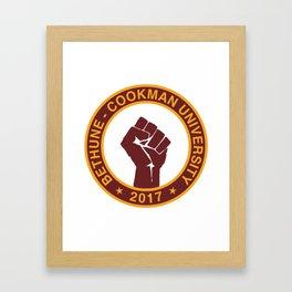 BETHUNE-COOKMAN CLASS OF 2017 Framed Art Print