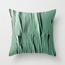 NYC Walls (zelen v.2) Throw Pillow
