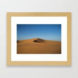 Desert Dunes in Morocco Framed Art Print