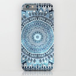 MANDALIKA INDIGO iPhone Case
