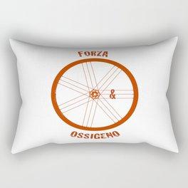 Forza e Ossigeno Rectangular Pillow