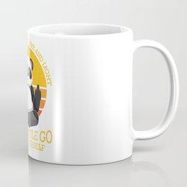 Mostly Peace Love Light And A Little go F You Coffee Mug