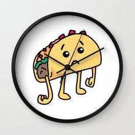 Sad Taco - Not Tuedsay Wall Clock