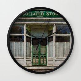 Associated Stores Wall Clock