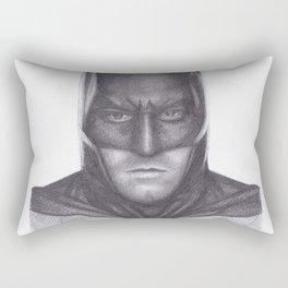 Ben Affleck Bat man Rectangular Pillow