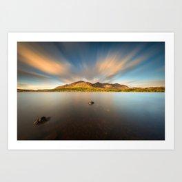 Lough Inagh Art Print