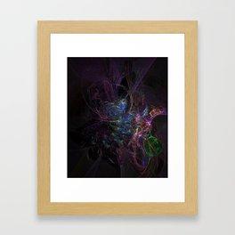 Cosmic Dream Catcher Framed Art Print