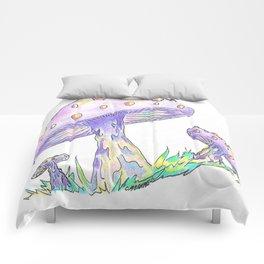 Shroom Rainbow II Comforters