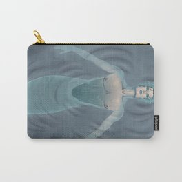 Merman Relaxing on the Surface Carry-All Pouch