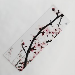 Spring blossom branches Yoga Mat