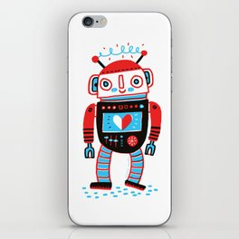 Your Robot Friend. iPhone Skin