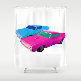 Los Toros Shower Curtain