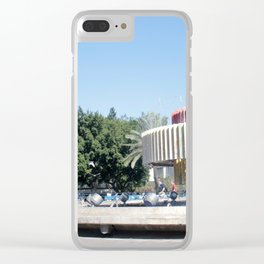 Tel Aviv photo - Dizengoff Square Clear iPhone Case