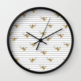 Monkey Trapeze  Wall Clock