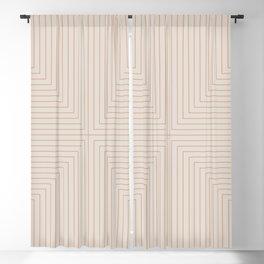 Angular Lines XVI Blackout Curtain