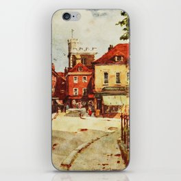 Church of St. Lawrence in Winchester by Wilfred Ball iPhone Skin