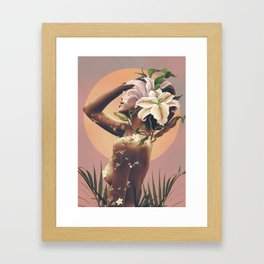Floral beauty 3 Framed Art Print