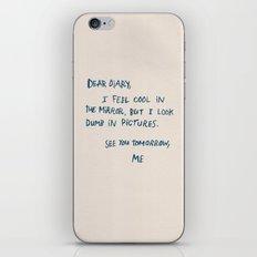 Dear Diary iPhone & iPod Skin