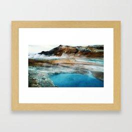 Sulfur City Framed Art Print