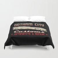 gotham Duvet Covers featuring G City customs by Buby87