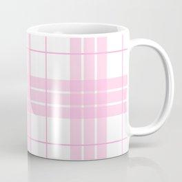 Pink Plaid Coffee Mug