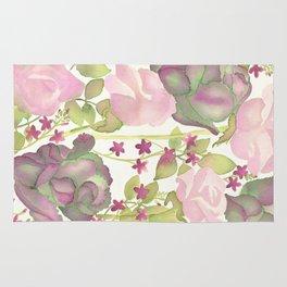 Autumn Bouquet - Kale & Rose Rug
