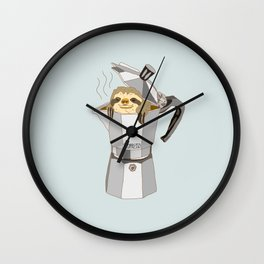 Slopresso Wall Clock
