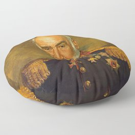 Sir Sean Connery - replaceface Floor Pillow