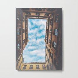City Sky Metal Print