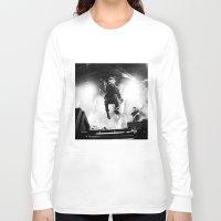 gorillaz Long Sleeve T-shirts featuring Damon Albarn (Blur) - I by Tomás Correa Arce (RockMe TommyBoy)