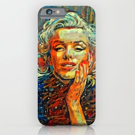 Marilyn #2 by Kulture Bang iPhone Case
