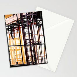burning glases Stationery Cards