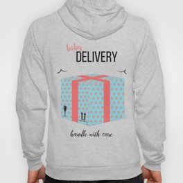 Baby delivery Hoody