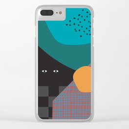 Afternoon at home Clear iPhone Case