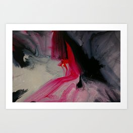 Wet paint 1 Art Print