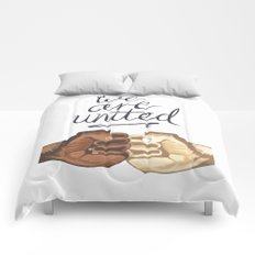 We Are United Comforters