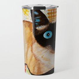 Misha the beautiful Siamese Cat Travel Mug