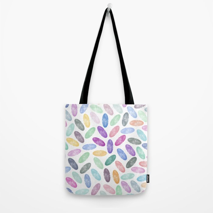 Watercolor Lovely Pattern VII Tote Bag