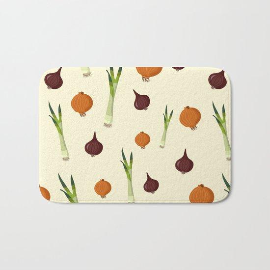 Onion pattern Bath Mat