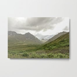 Overcast Valley Metal Print
