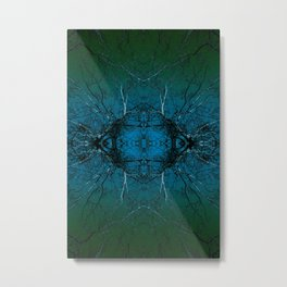 Ovarian Metal Print